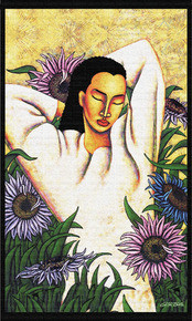 Joy Of Life 18 x 36in Tapestry Wall Hanging