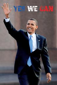 Barack Obama: Yes We Can (20 x 16) Art Print