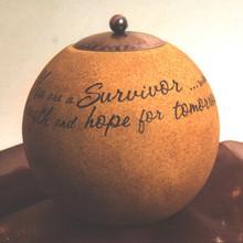 Survivor 5in Round Candle