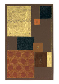 Abstract in Brown II  (medium) Art Print - Chis