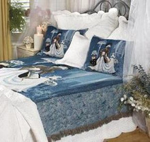 My Cup Runneth Over Bedspread Queen Size