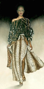 Catwalk Art Print - Signed giclee on canvas ed. 149 - Consuelo Gamboa