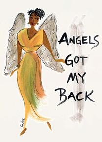 Angels Got My Back Magnet - Cidne Wallace