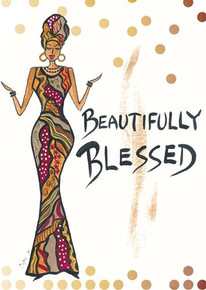 Beautifully Blessed Magnet - Cidne Wallace