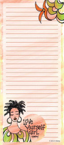 Love Yourself Girl  Note Pad