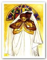 Pray Together, Stay Together (18 x 12) Art Print - Kevin A. Williams - WAK