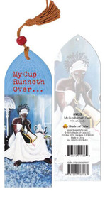 My Cup Runneth Over Bookmark--Annie Lee