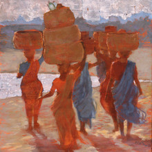 Leaving Godspur Market--Leslie Clark