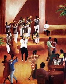 The Trumpeteer Art Print - Jason Delancey