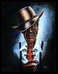 Blues Legend--Steven Johnson