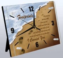 Footprints Wall Clock