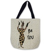 Be You Woven Tote Bag