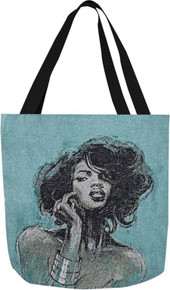 Medoly 1 Ebony Art Tote Bag