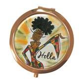 Holla Compact Mirror--Kiwi McDowell
