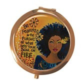 Soul On Fire Compact Mirror--GBaby