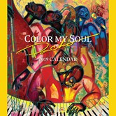 """2019 Color My Soul by """"Poncho"""" African American Calendar"""