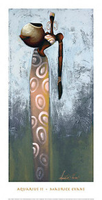 Aquarius II Art Print - Maurice Evans