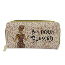Beautifully Blessed Long Wallet--Cidne Wallace