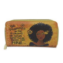 """Soul On Fire Long Wallet-- Sylvia """"GBaby"""" Cohen"""