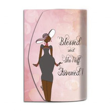 Blessed And Sho Nuff Favored  Purse Pal--Kiwi McDowell