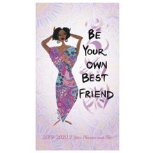 Be Your Own Best Friend 2019-2020 African American Two Year Planner, Cidne Wallace