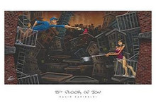 15th Floor of Joy Art Print - David Garibaldi
