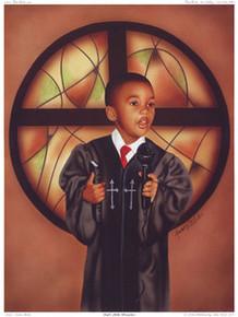 God's Little Preacher Art Print - Alan & Aaron Hicks