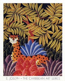 Leopard Art Print - Joseph