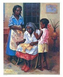 Three Generations Art Print - Hulis Mavruk
