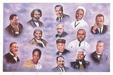14 Leaders Art Print - Hulis Mavruk