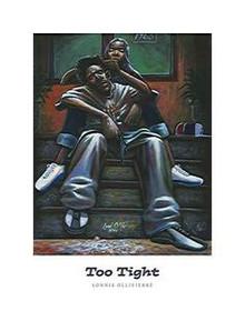 Too Tight (22 x 28) Art Print - Lonnie Ollivierre