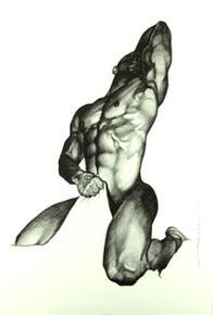 Right Here Art Print - Merrill Robinson