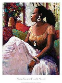 Peaceful Moment Art Print - Monica Stewart