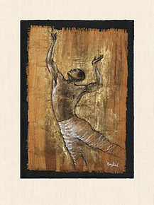 Dance of Joy II Art Print - Monica Stewart