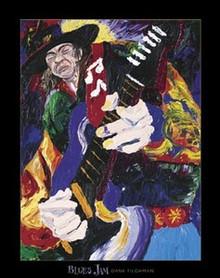 Blues Jam Art Print - Dane Tilgham
