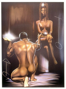Soul Mates (16.5 x 12) Art Print Kevin A. Williams - WAK