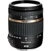 Tamron 18-270mm F/3.5-6.3 DI-II VC PZD Piezo Drive Ultrasonic Motor Aspherical (IF) AF Zoom, for Canon EOS Digital SLRs