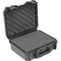 """SKB 3I-1209-4B-C Injection Molded Waterproof Case with Cubed Foam Interior, 12x9x4.5"""", Black"""