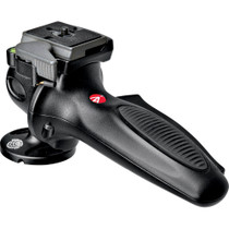 """Manfrotto 327RC2 Lightweight Magnesium Body Joystick Head with Quick Release, Supports 12.1 lb., Black"""