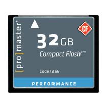 Promaster CompactFlash High Speed 150x 32GB