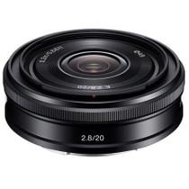 Sony 20mm F2.8 Alpha E-mount NEX Camera Lens, Black