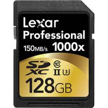 Lexar 128GB Professional 1000x UHS-II SDXC Memory Card (Class 10, UHS Speed Class 3)