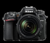 Nikon D7500 DX-format Digital SLR with 18-140mm VR Lens (Black)