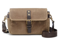Ona Bowery Canvas Messenger Bag (Field Tan)