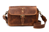 Ona Bowery Leather Messenger Bag (Cognac)