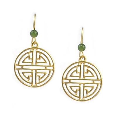 Shou Symbol With Jade Earrings Detroit Institute Of Arts Museum Shop