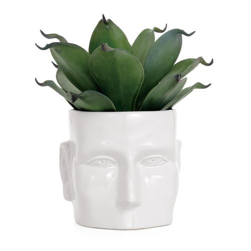 Face Vase White Ceramic Pot Large - Detroit Institute of Arts Museum ...