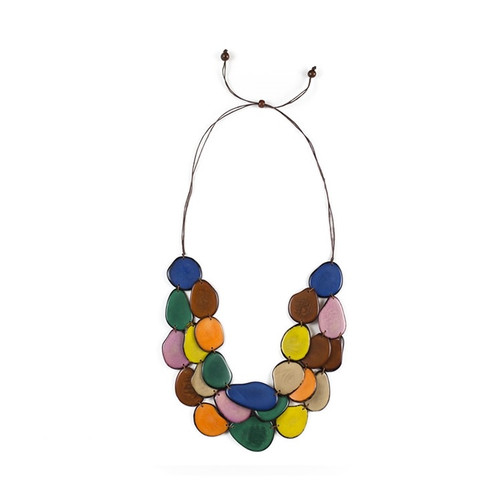 sweater festive friendly su tagua necklace placer eco venture