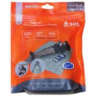 SOL Heavy Duty Emergency Blanket (OD Green)