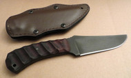 Winkler Knives WK II Belt Knife (Sculpted Maple Handles)